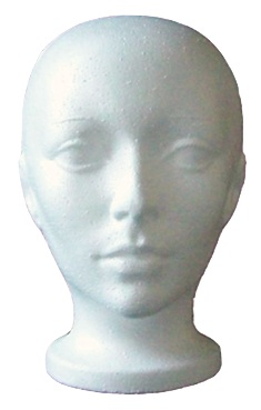 styrofoam mannequin head if you need to style a wig a mannequin head    Styrofoam Mannequin Head