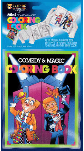 mini magic colouring book magic trick - Coloring Book Magic Trick
