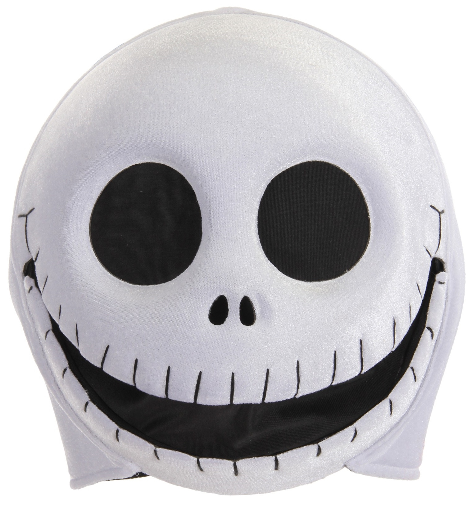 e9b02b95d4449 Make every day Halloween with this Disney Tim Burton s The Nightmare Before  Christmas Jack Skellington Plush Mouth Mover mask by elope.